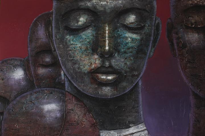 Aisan - Portrait Painting, Segun Aiyesan