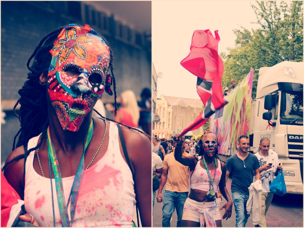Reveller, Notting Hill Carnival 2013