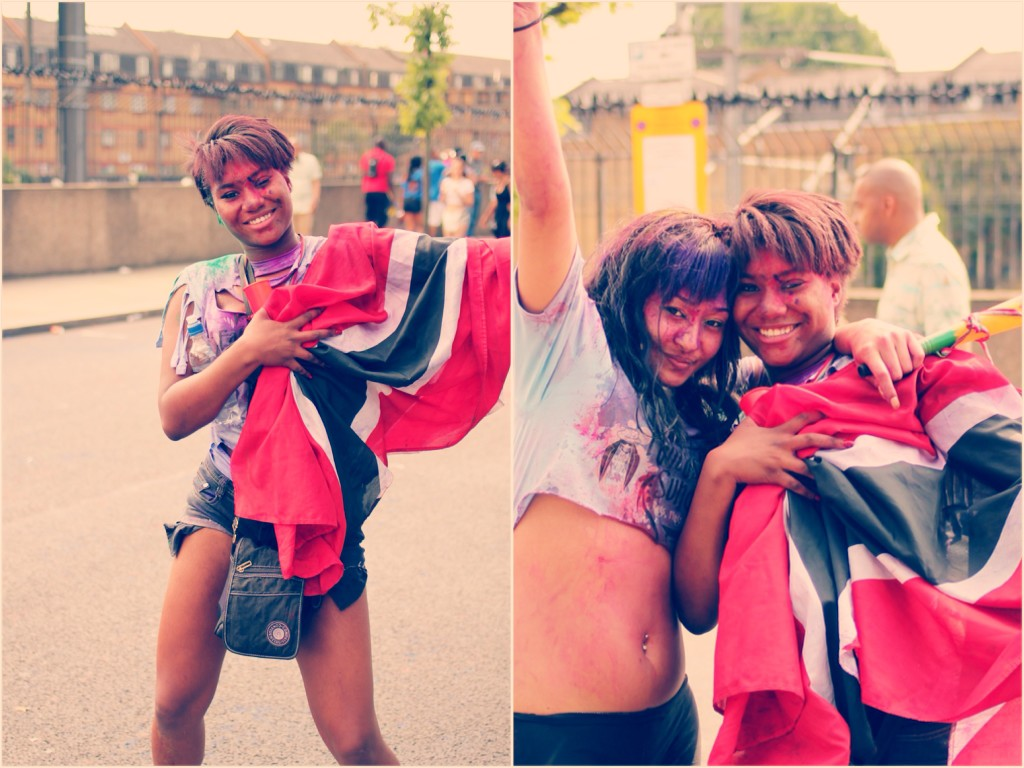 Revellers, Notting Hill Carnival 2013