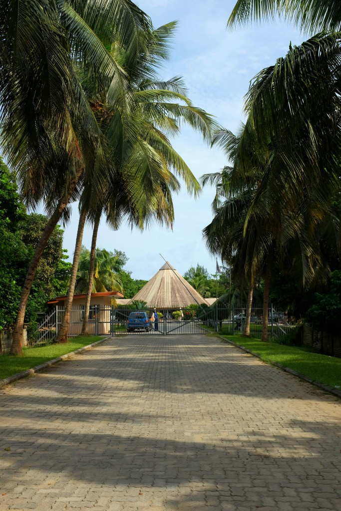 Entrance to the Lagos Conservation Centre