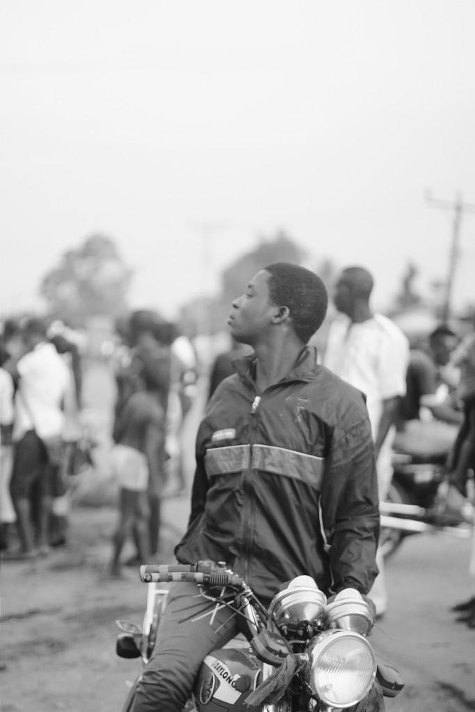 Motorcycle Rider, Ete Wrestling Festival, Isiokpo