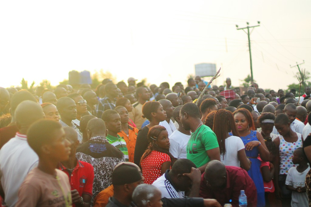 Spectators, Ete Wrestling Festival, Isiokpo