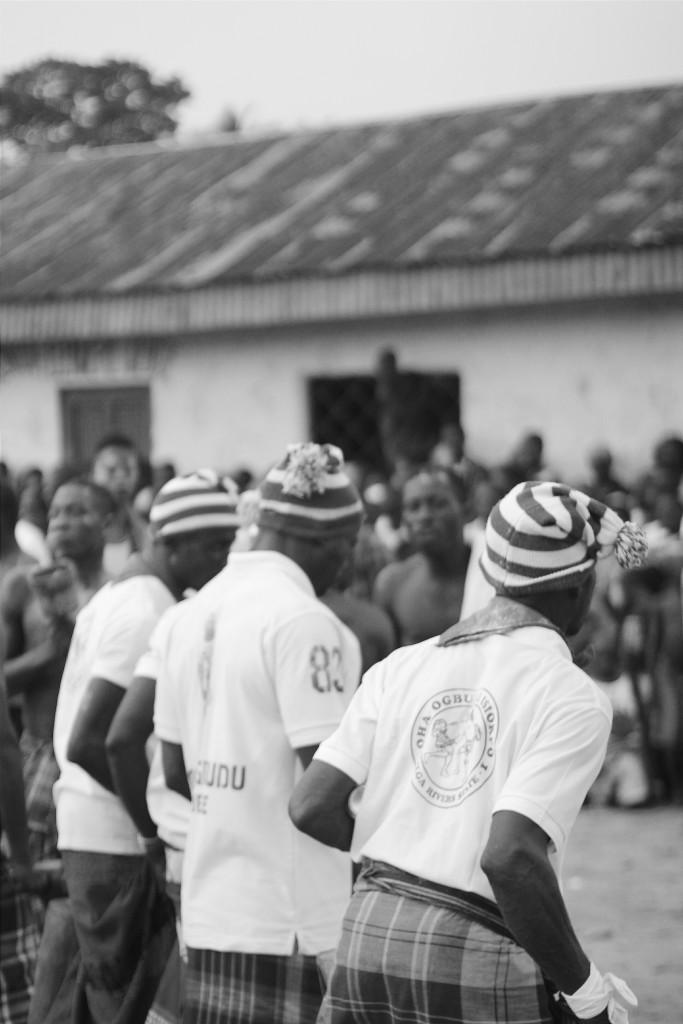 Members of a wrestling society, Ete Wrestling Festival, Isiokpo