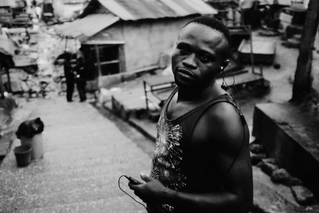 Portrait, Creek Road Market, Old Port Harcourt Township