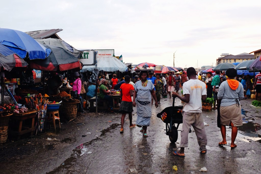 Creek Road Market, Old Port Harcourt Township