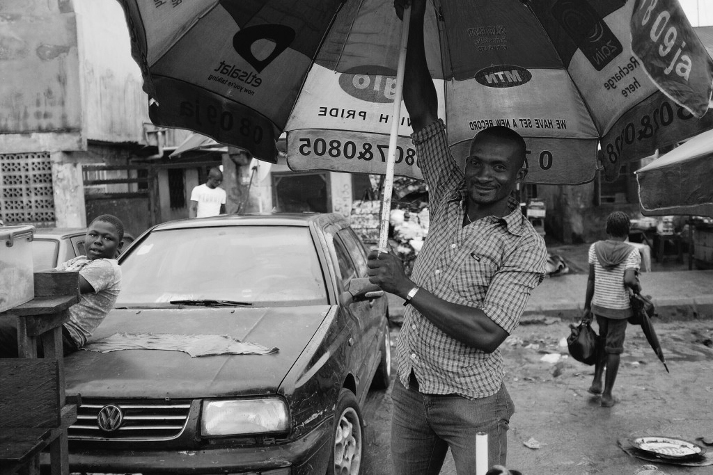 Mobile Phone Operator, Creek Road Market, Old Port Harcourt Township