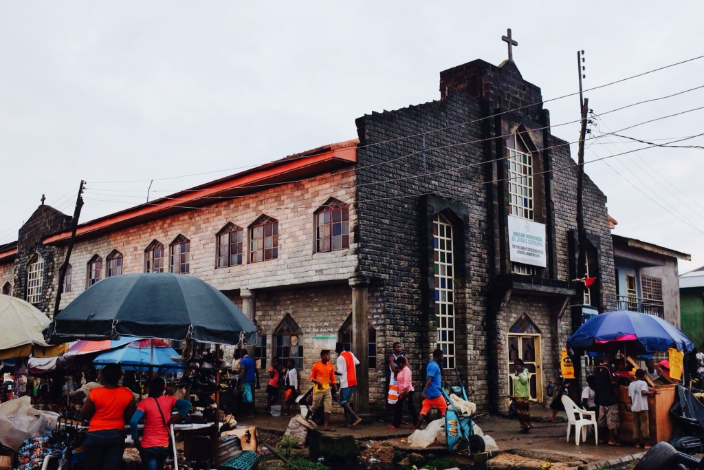 Church, Creek Road Market, Old Port Harcourt Township