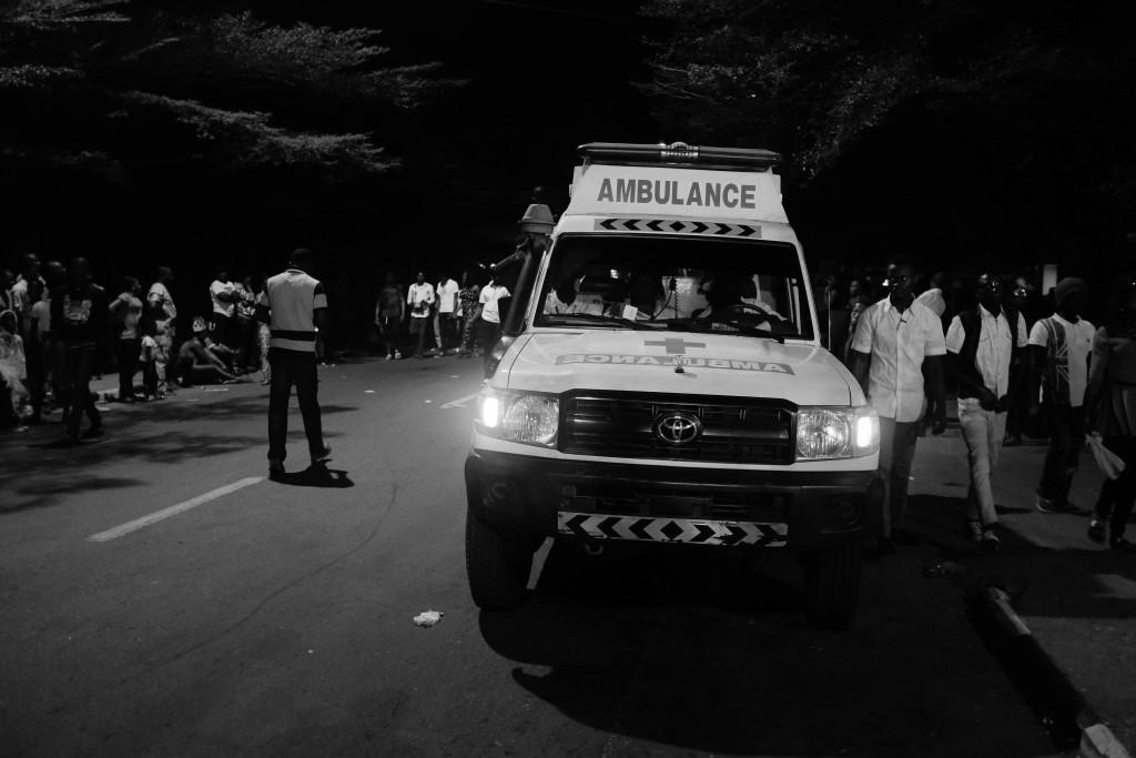 Ambulance, Calabar Carnival 2014