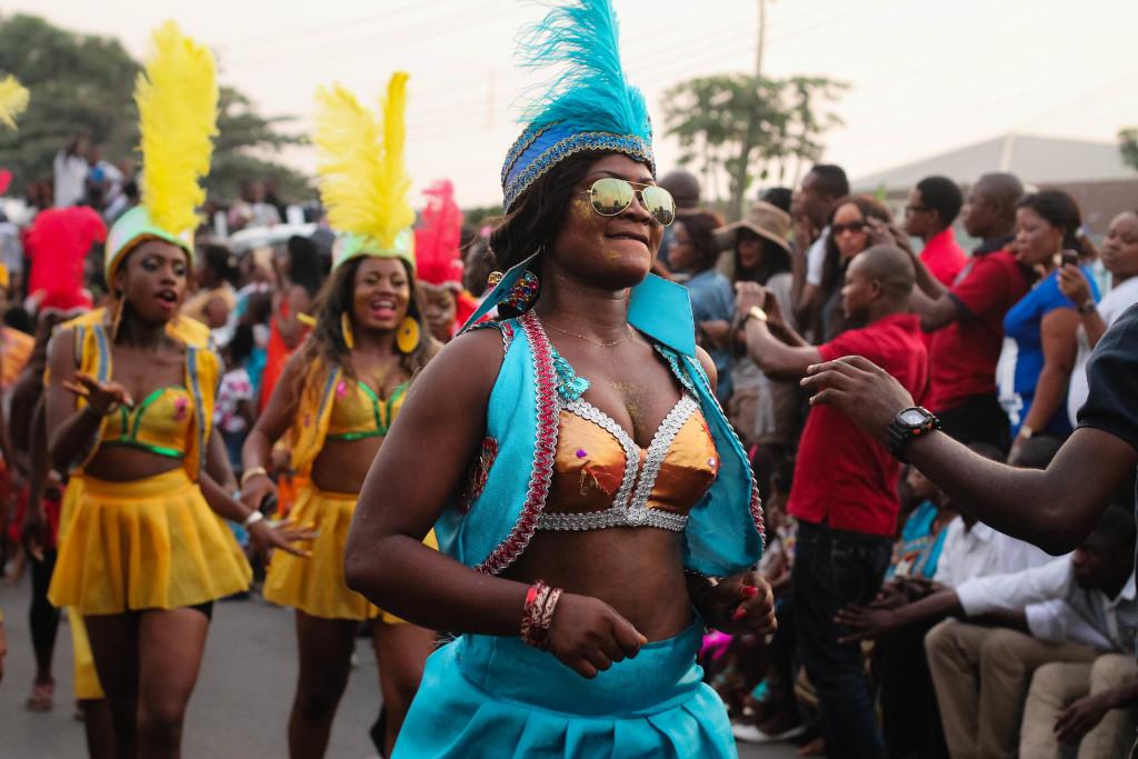 Performers, Calabar Carnival 2014
