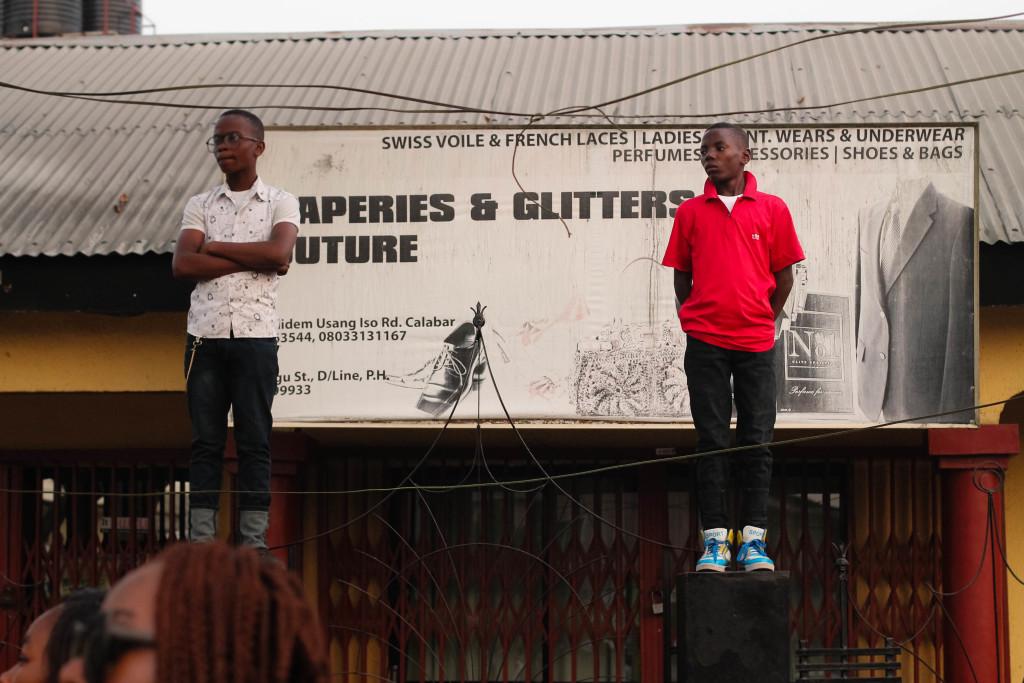 Spectators, Calabar Carnival 2014