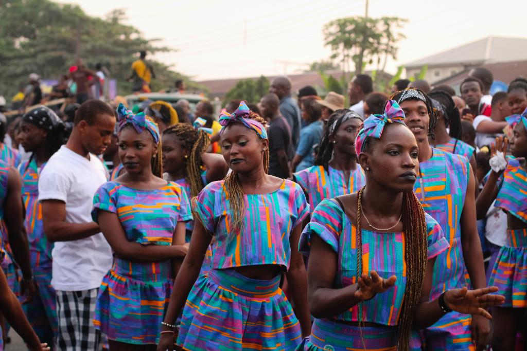 Revellers, Calabar Carnival 2014
