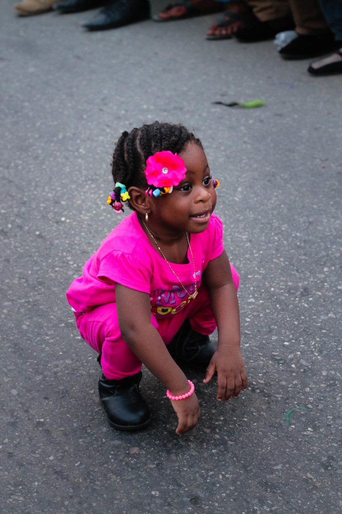 Child on the street, Calabar Carnival 2014