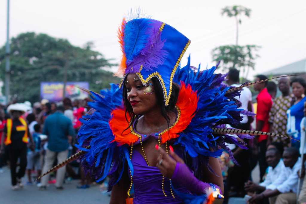 Performer, Calabar Carnival 2014