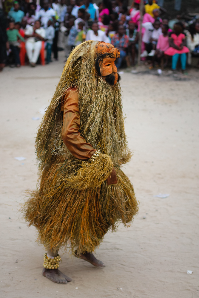 Ekpo Masquerade Display,Bakana
