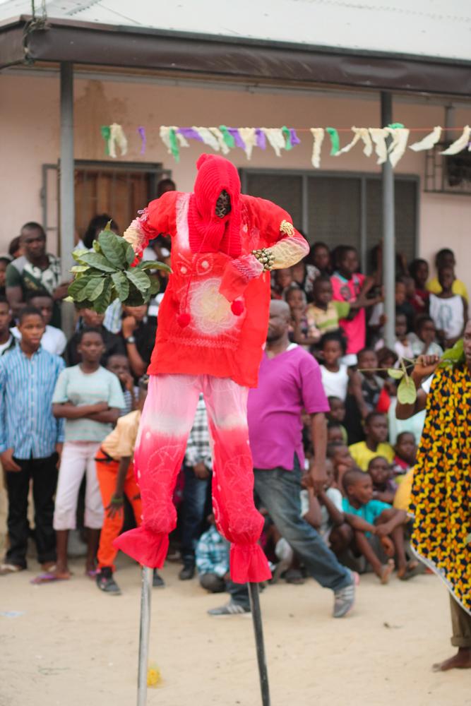 Ekpo Masquerade Display, Bakana