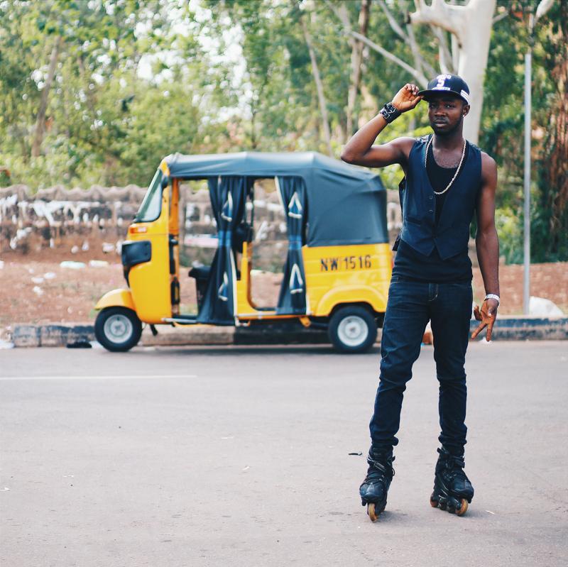 Portrait, Michael Opara Square, Enugu