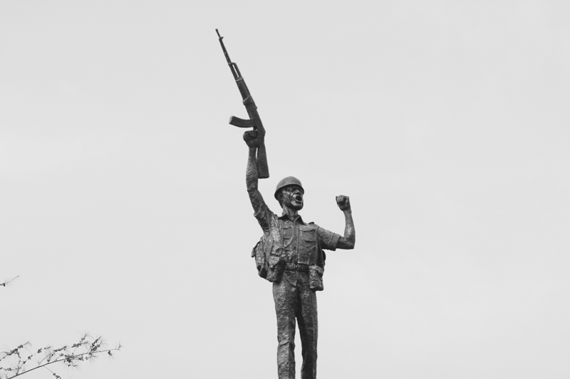 Statue, Michael Opara Square, Enugu