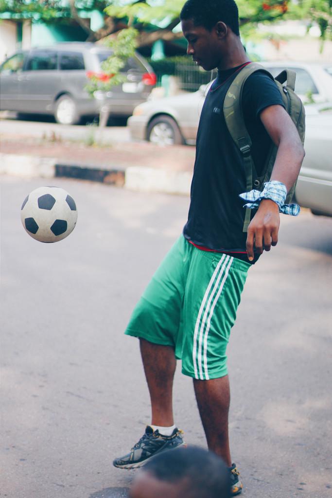 Football, Michael Opara Square, Enugu