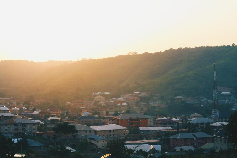 Hill top view, Agbani, Enugu