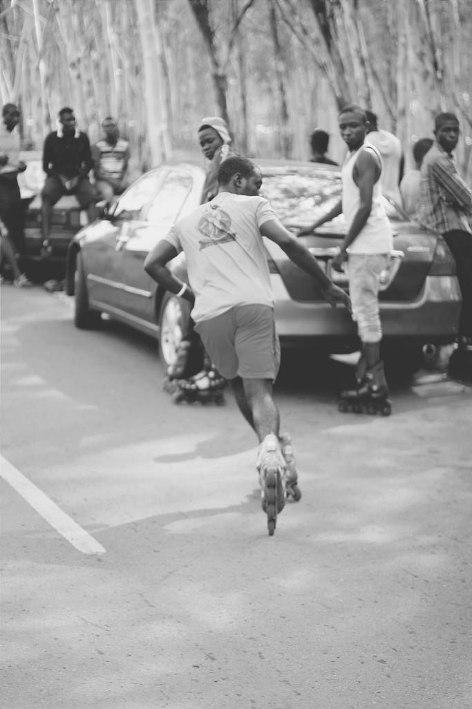 Skating, Michael Opara Square, Enugu
