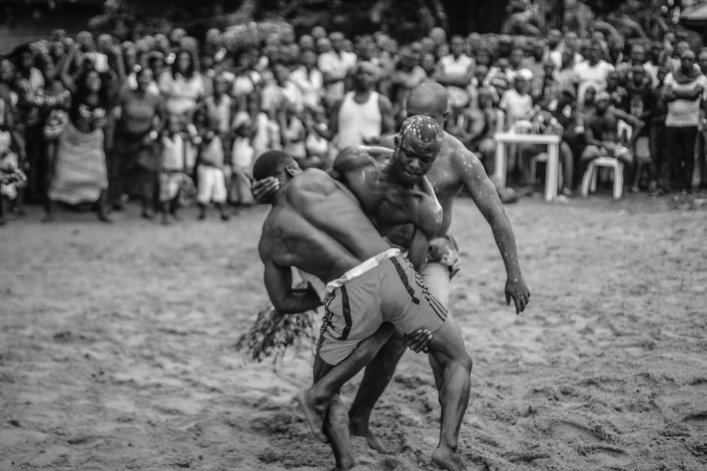 Wrestlers, Ete Wrestling Festival, Omagwa