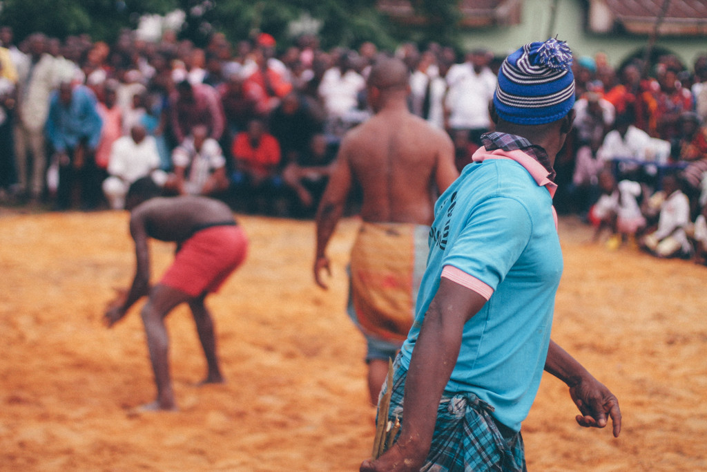 Member of a local society, Wrestlers, Ete Wrestling Festival, Isiokpo