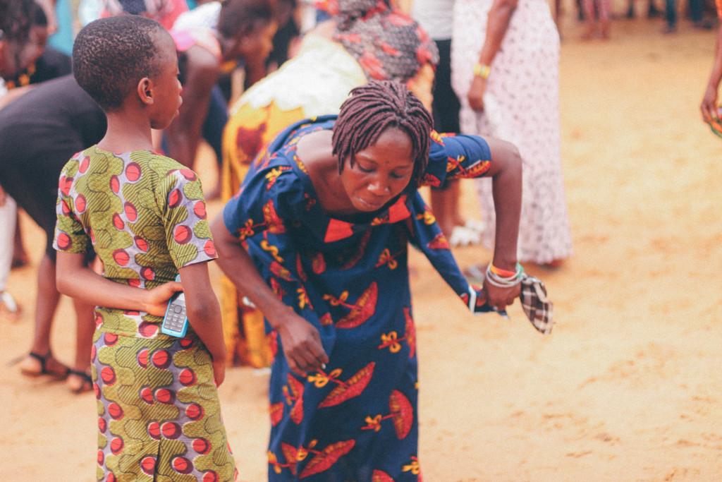 Dancing, Ete Wrestling Festival, Omagwa