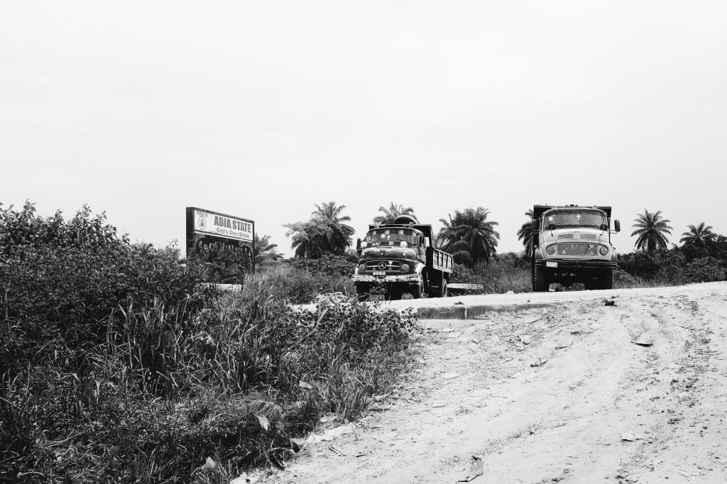 Lorries, Imo River, Oyigbo, PH