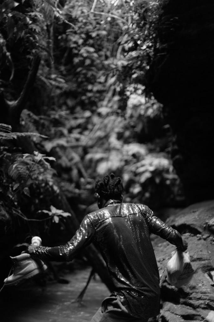 Portrait, Awhum Waterfall and Cave, Enugu