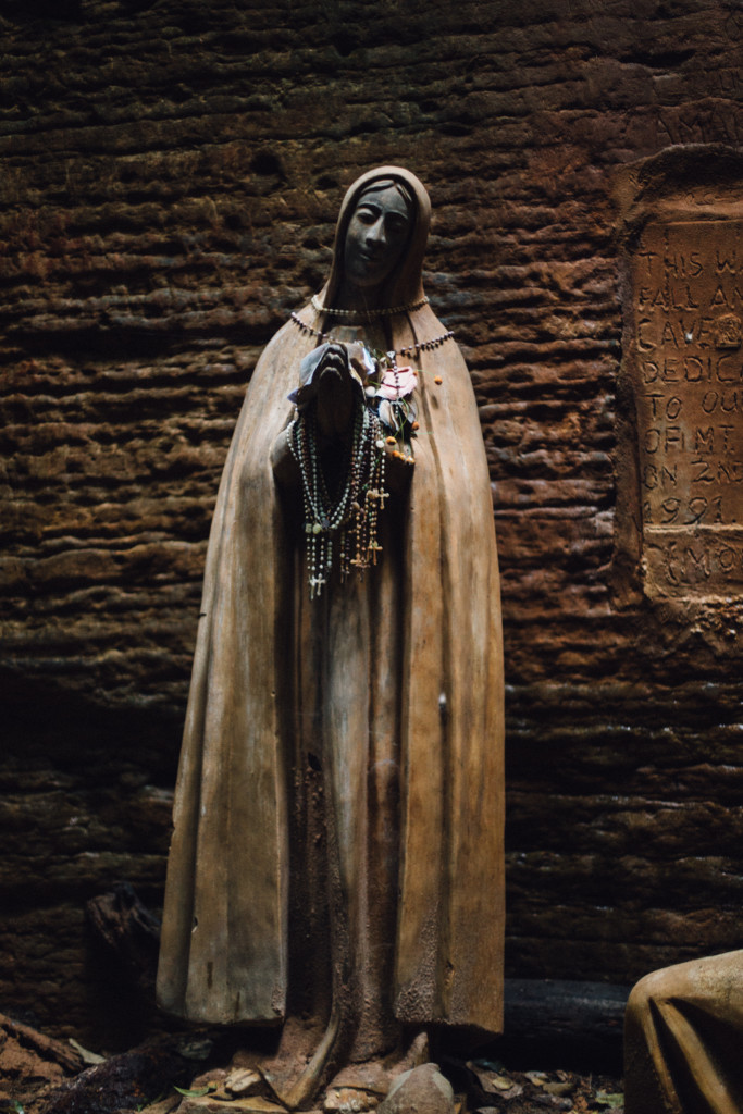 Statue of Mary, Awhum Waterfall and Cave, Enugu