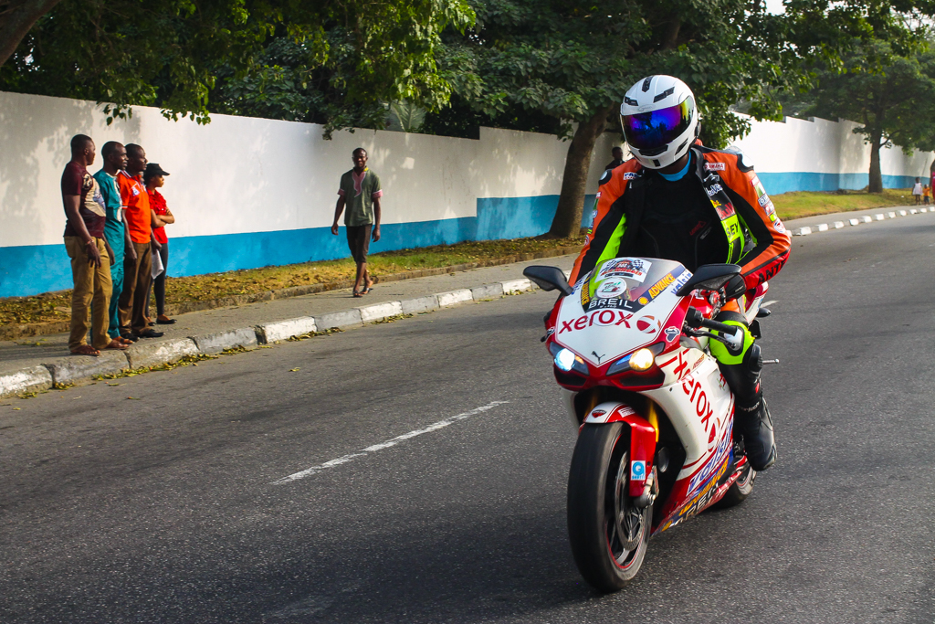 Calabar Carnival 2015 biker