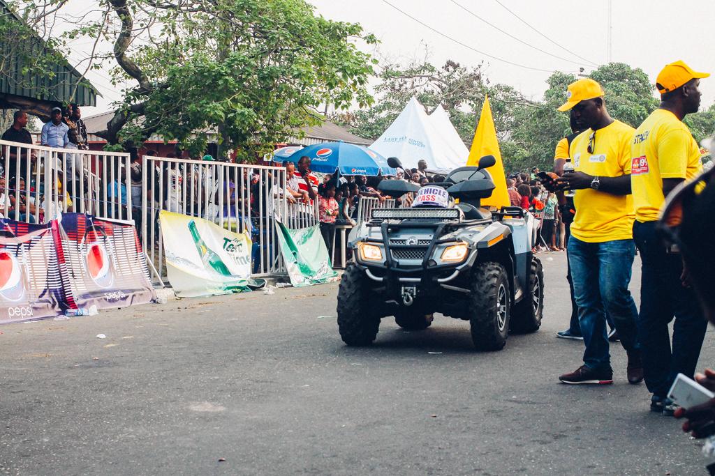 Calabar Carnival 2015 quad bike