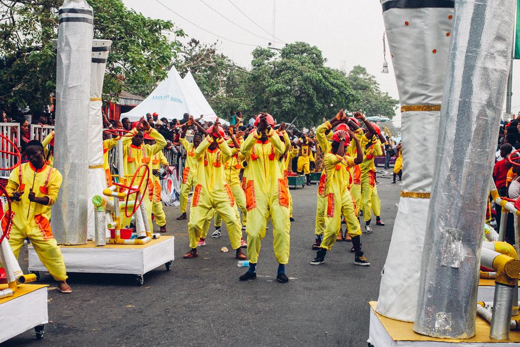 Performers, Calabar Carnival 2015