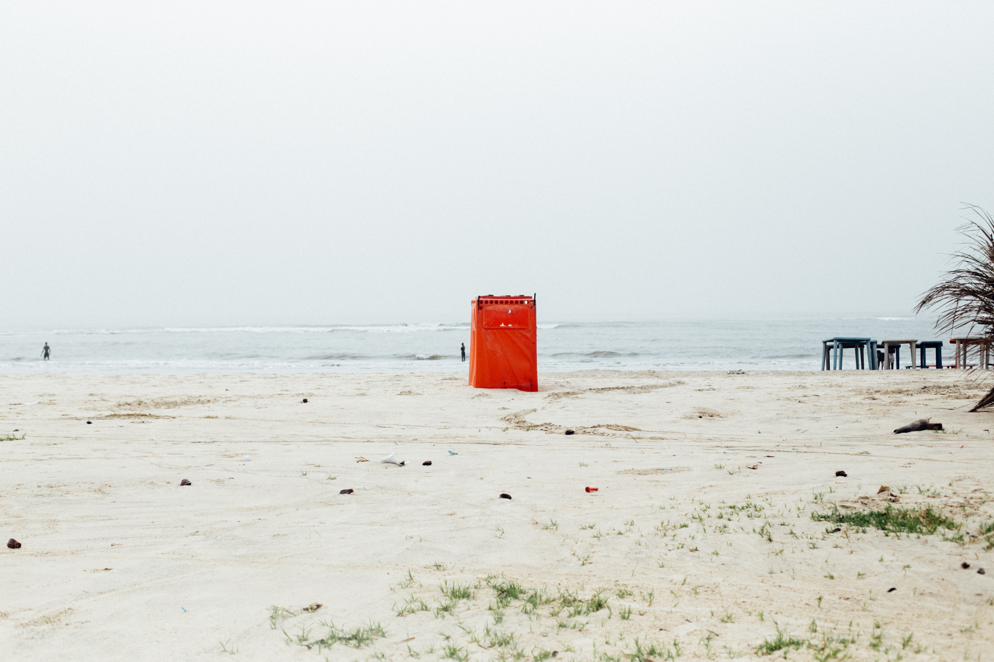 Red Toilet, Ibeno Beach