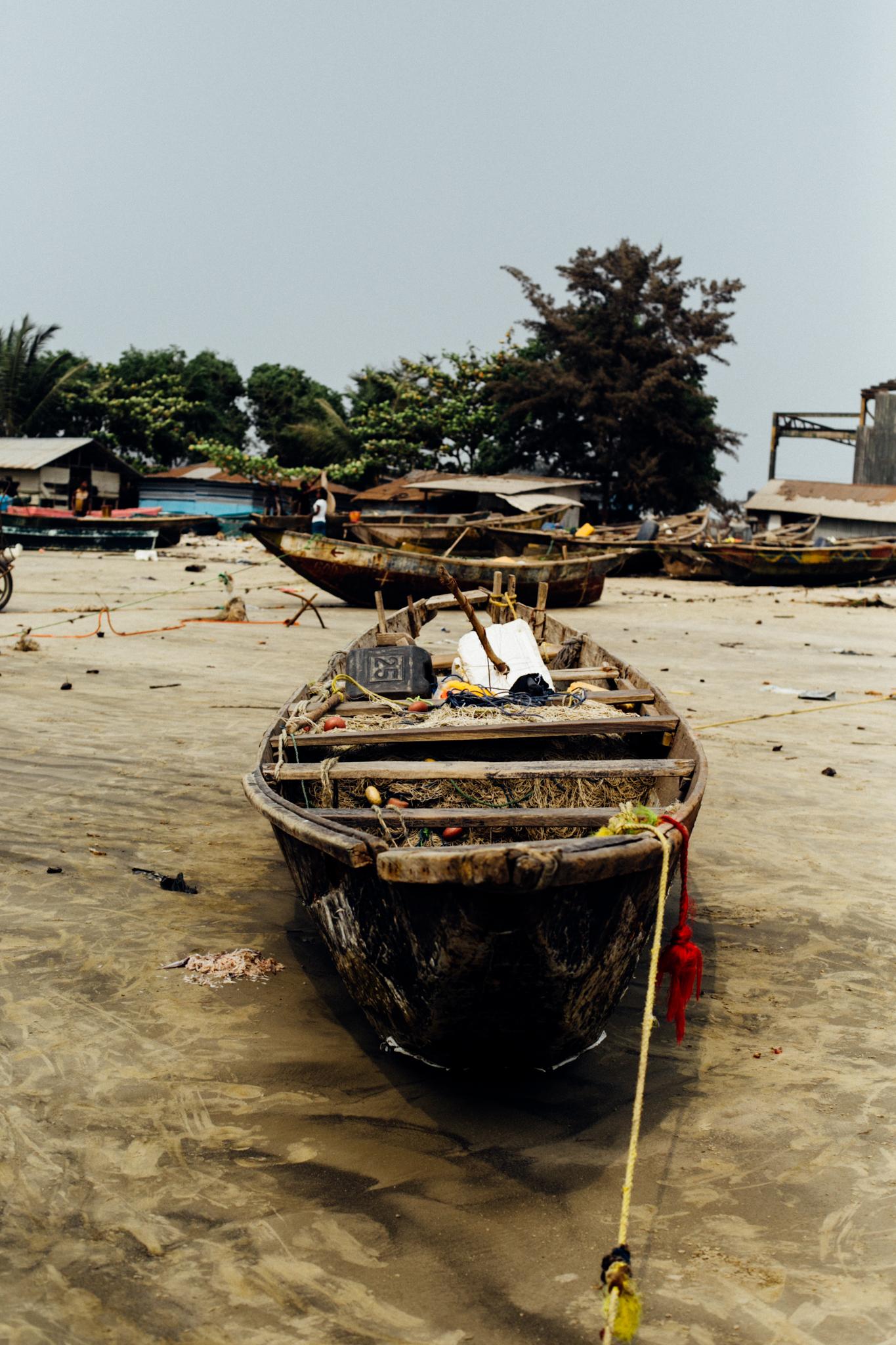 Boat, Ibeno Beach