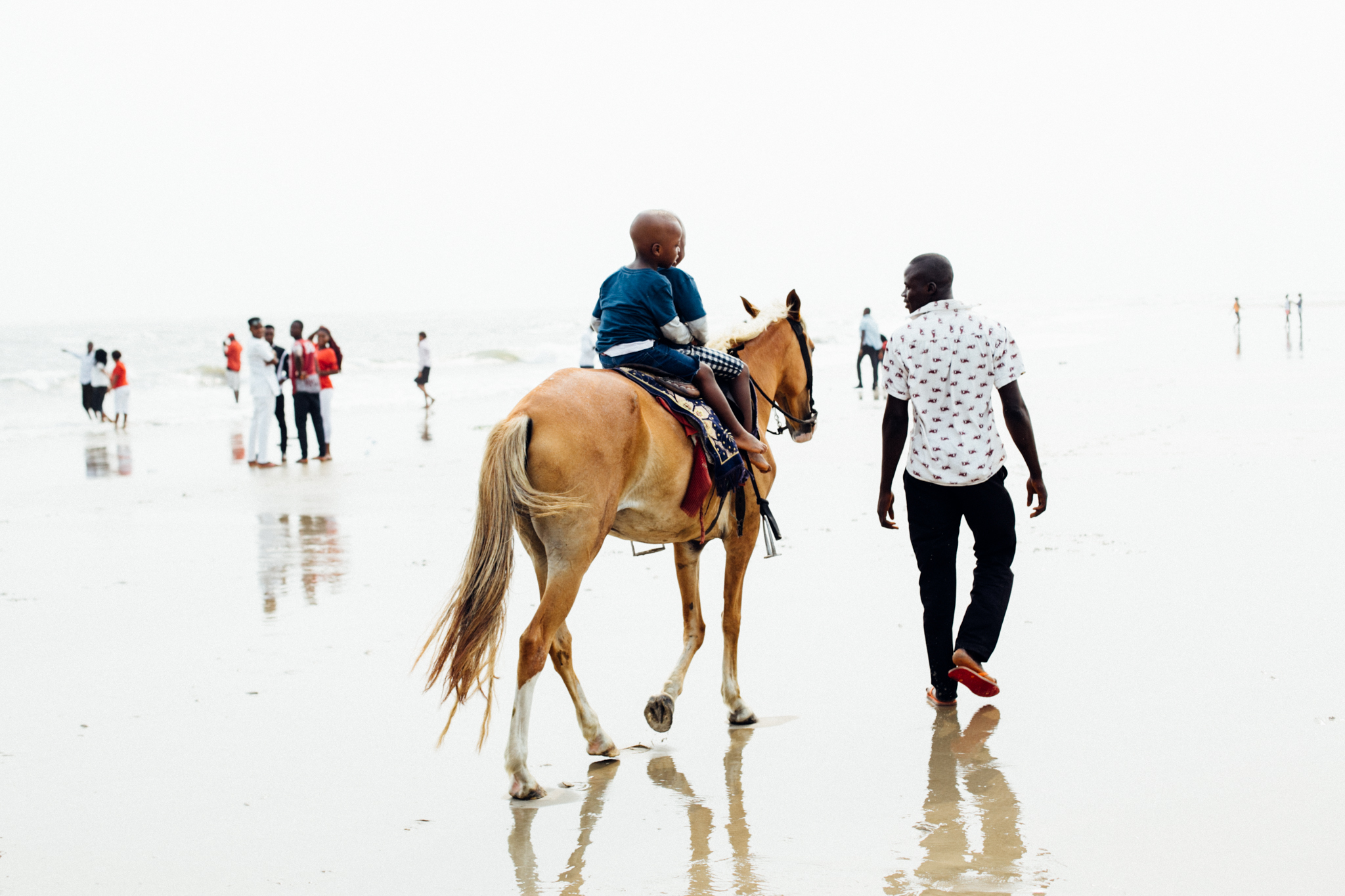 Horse Ride, Ibeno Beach