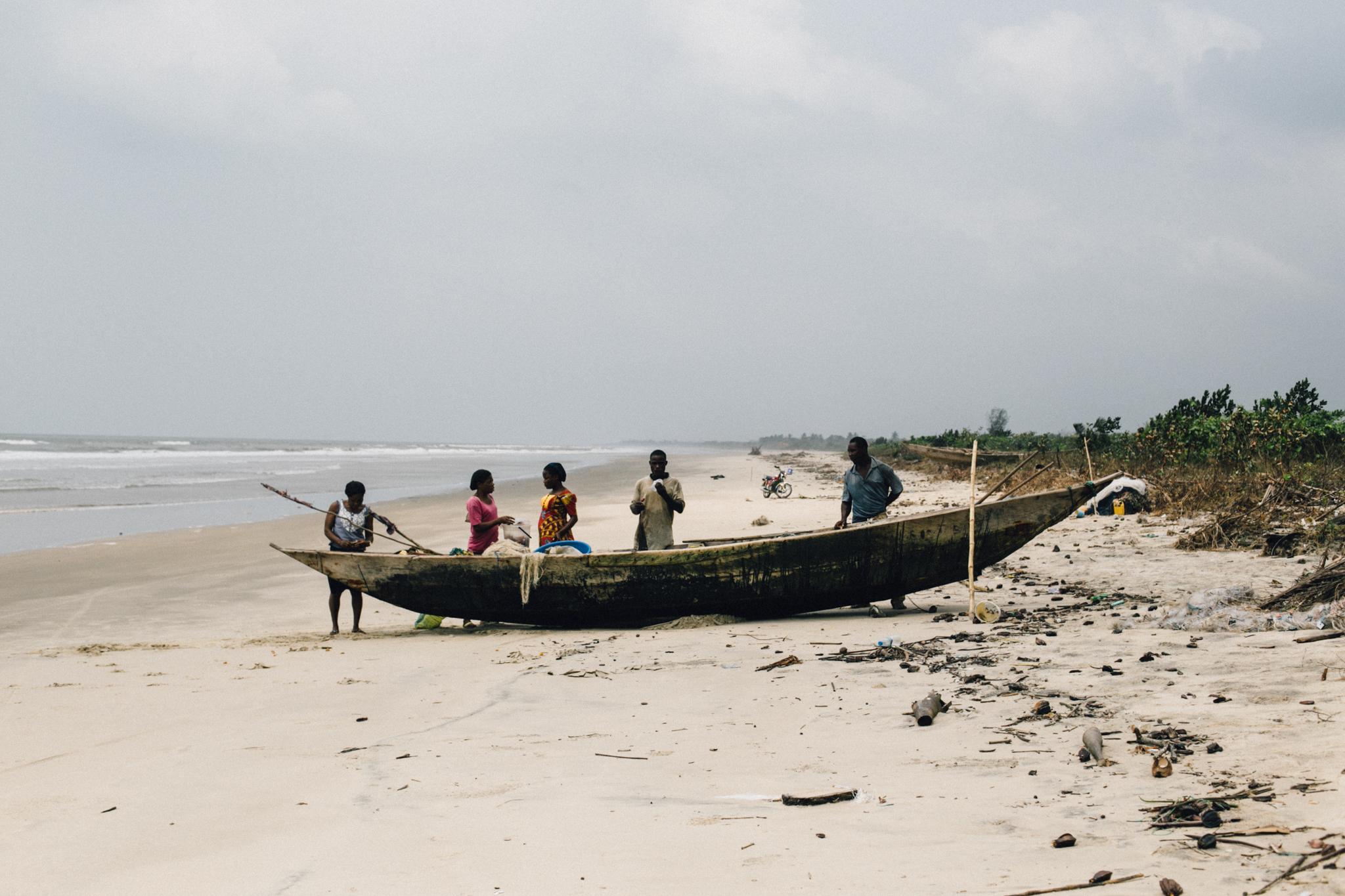 Fishermen, Ikuru Town Beach