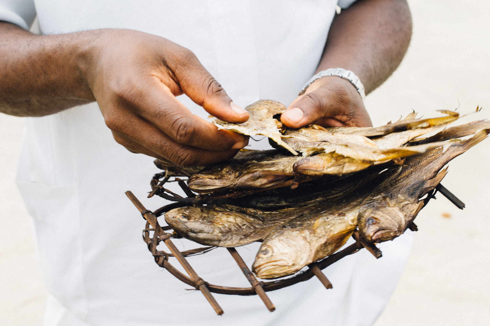Dried Fish, Ikuru Town Beach