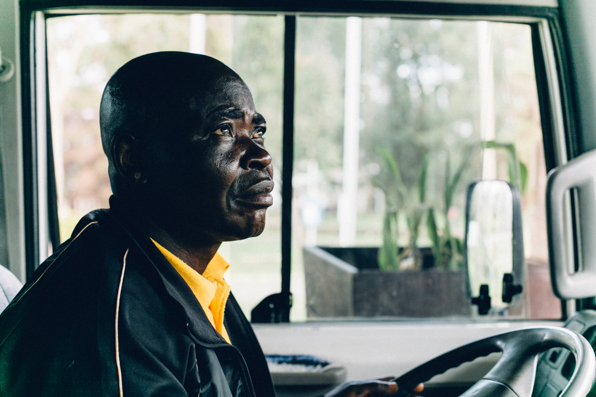 Tour bus driver, Obudu