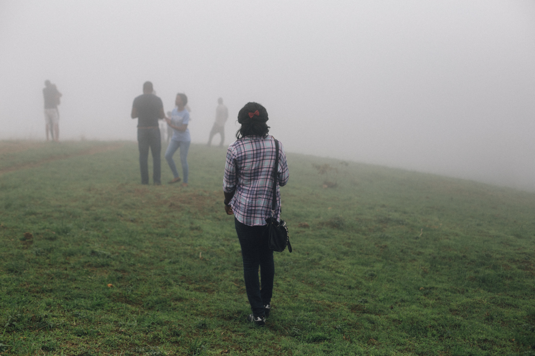 Walking into the clouds, Obudu