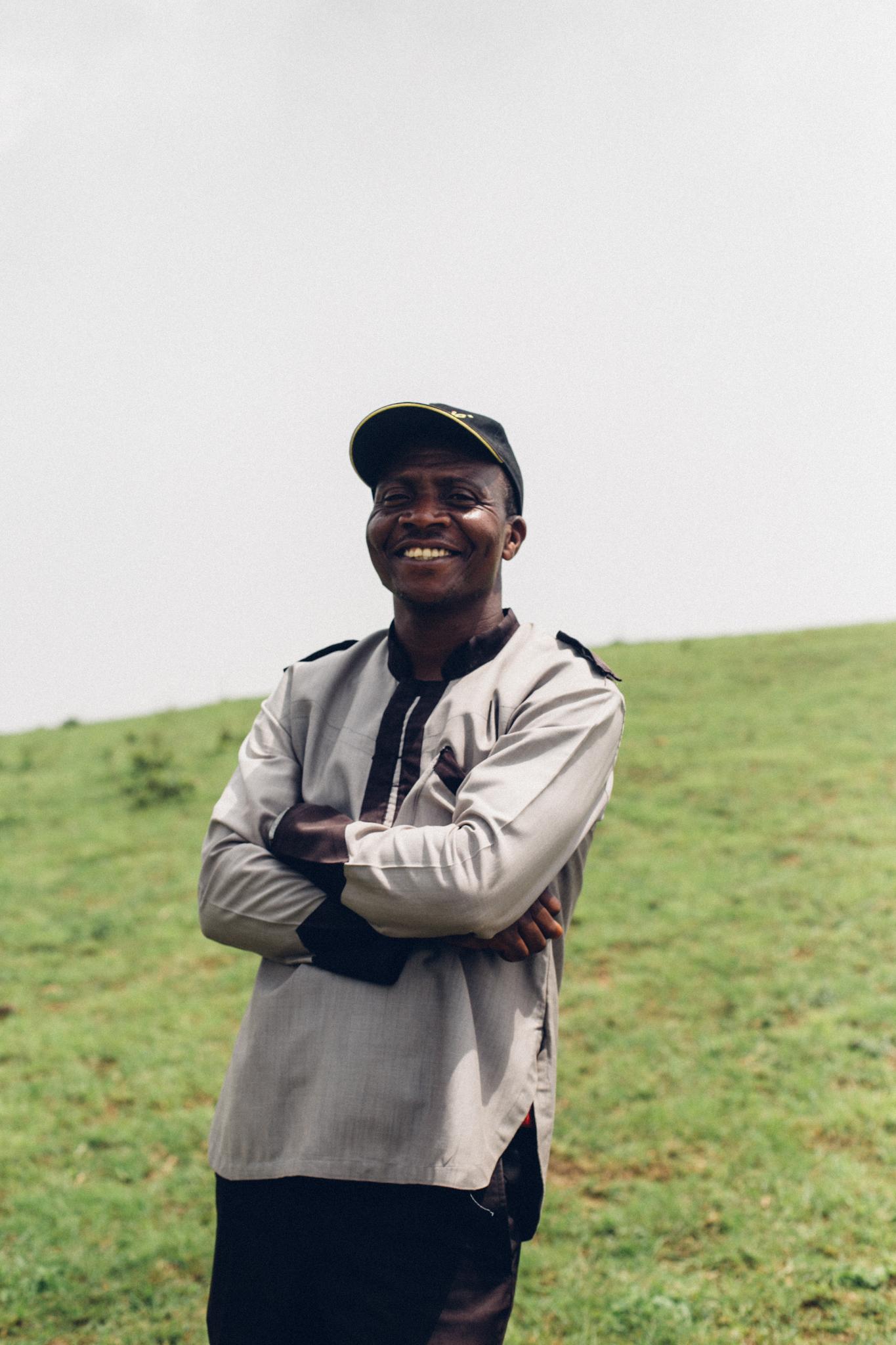 Portrait of a tourguide, Obudu