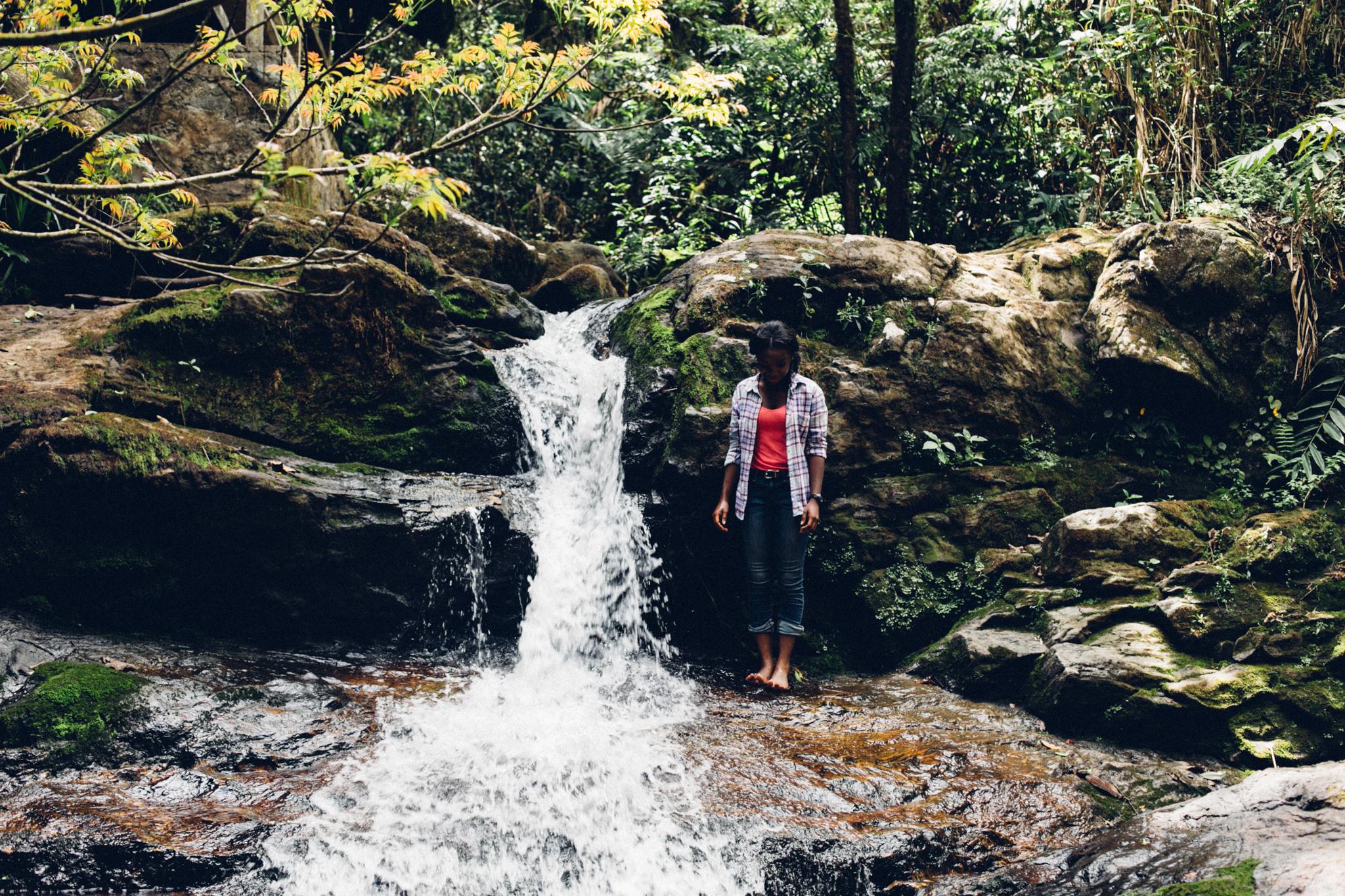 Waterfall, Groto, Obudu