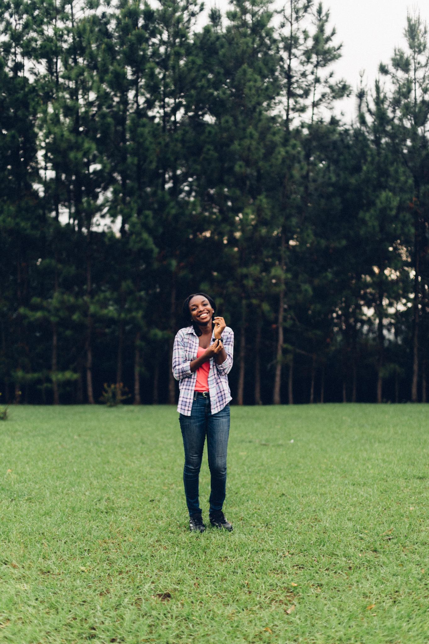 Portrait of a lady, Obudu