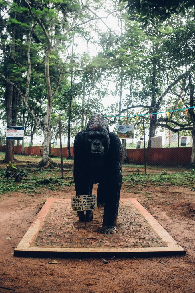Sculpture, Benin Zoo