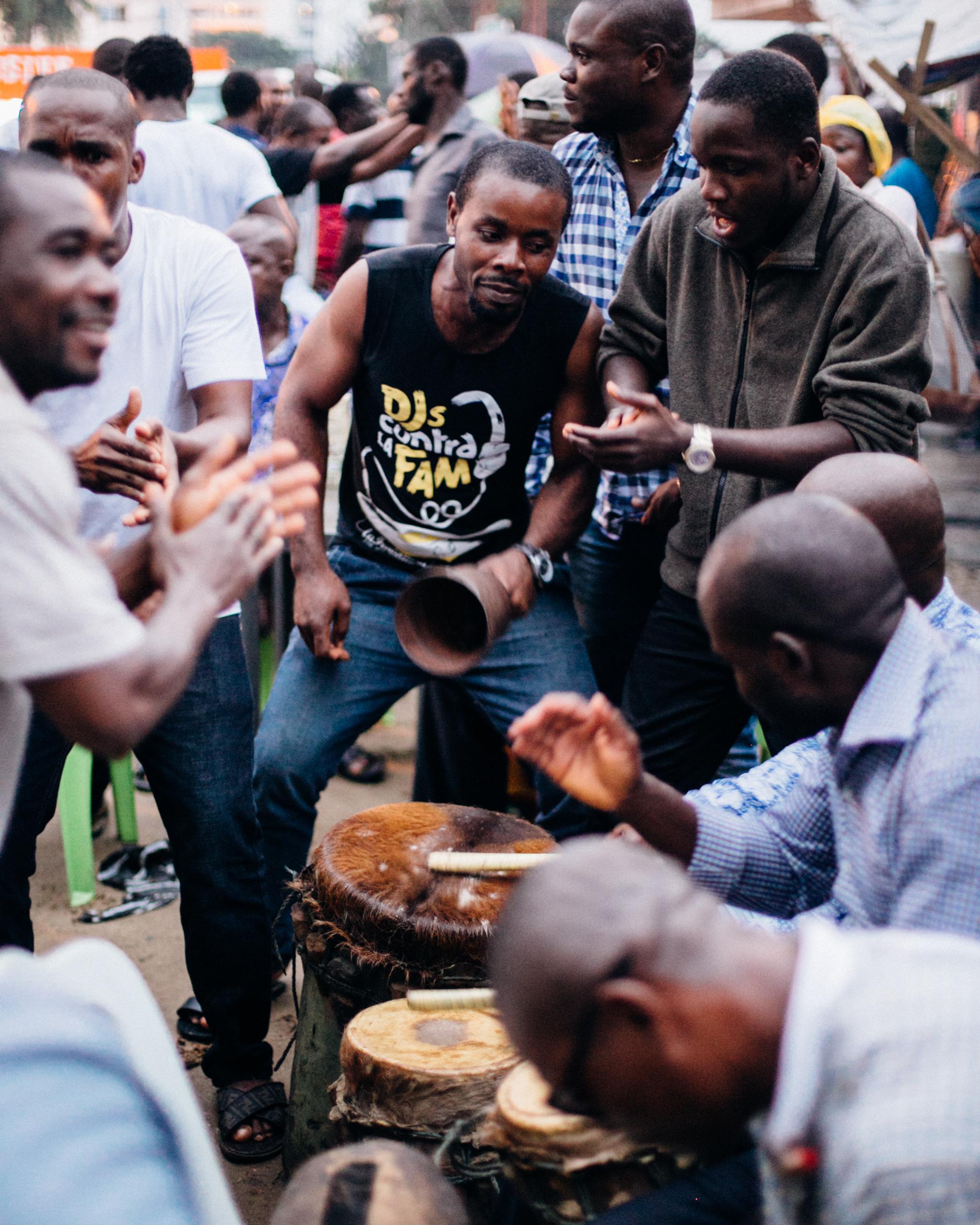 Drummers, Egelege Festival, Rumuola, Port Harcourt