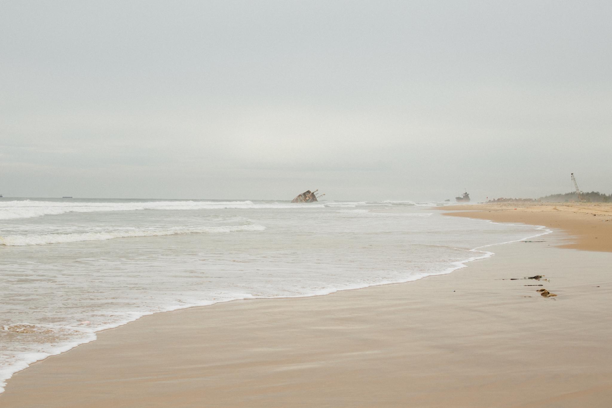 Shipwreck, Tarkwa Bay Beach