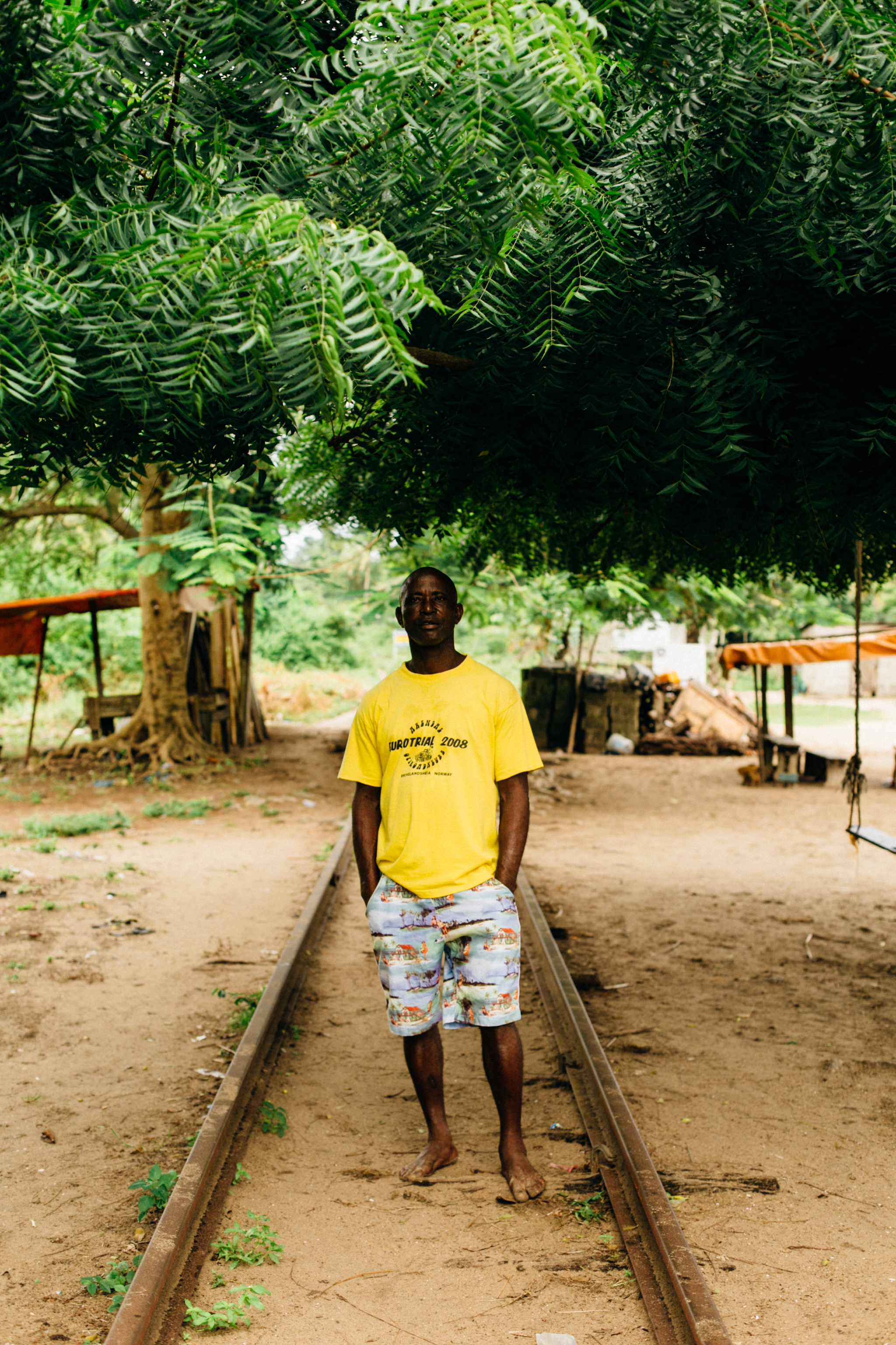 Portrait of a Tour Guide, Tarkwa Bay