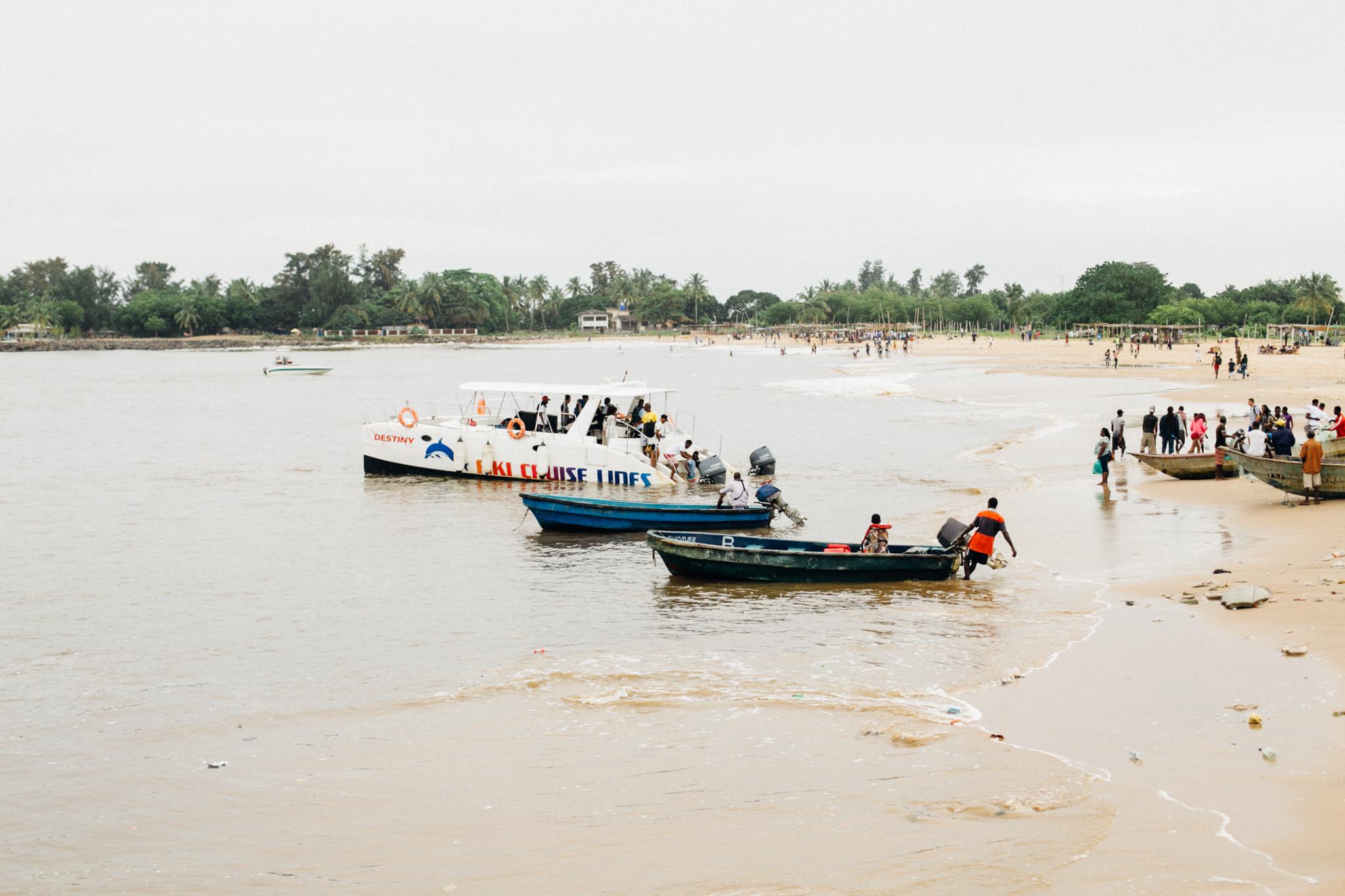 Boats, Tarkwa Bay