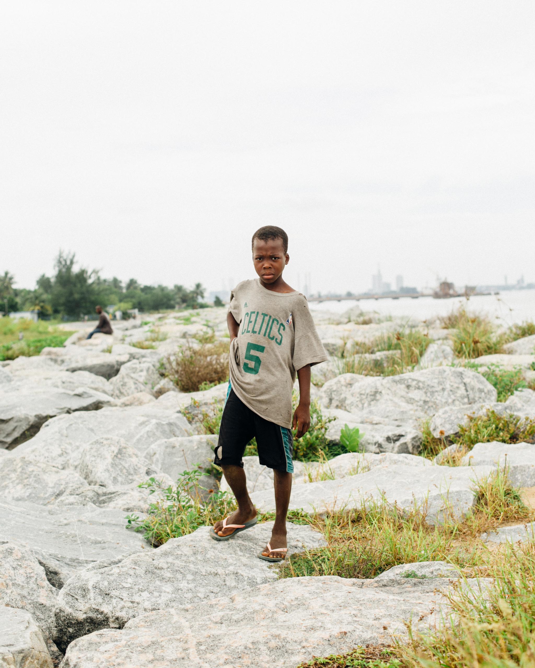Boy, Tarkwa Bay Beach
