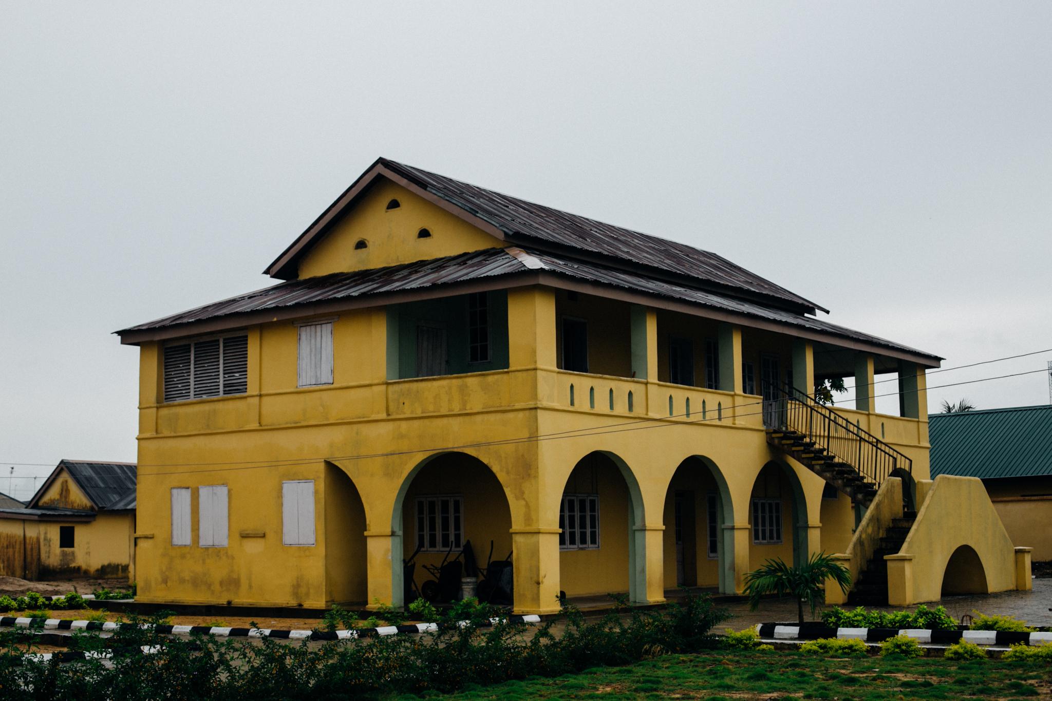 Colonial era storey building, Badagry